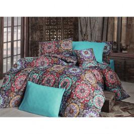 Obliečky s plachtou Ashley Turquoise, 200x220 cm