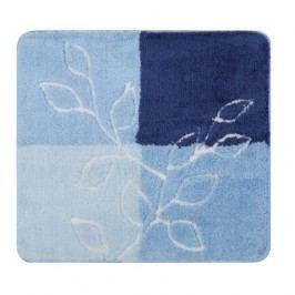 Modrá predložka do kúpeľne Confetti Bathmats Lagina, 50x60cm