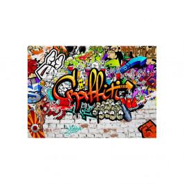 Veľkoformátová tapeta Artgeist Colourful Graffiti, 350×245 cm
