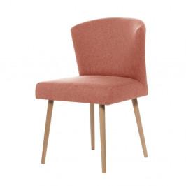 Broskyňovooranžová jedálenská stolička My Pop Design Richter