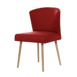 Červená jedálenská stolička My Pop Design Richter