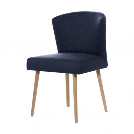 Tmavomodrá jedálenská stolička My Pop Design Richter