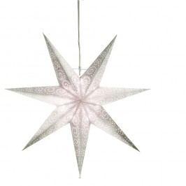 Svietiaca hviezda Best Season Antique Silverino, 60 cm