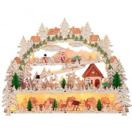 Svietiaca LED dekorácia Best Season Schwarzwald