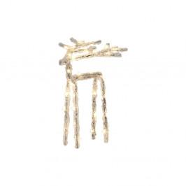 Svietiaca LED dekorácia Best Season Icy Deer, 20 cm