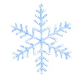 Svietiaca LED dekorácia Best Season Merry Snowflake, Ø 80 cm