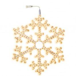 Svietiaca hviezda Best Season Warm Snowflake, Ø 75 cm