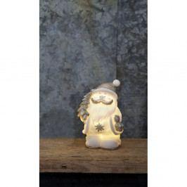 Svietiaca LED dekorácia Best Season Figure Buddy Snowman