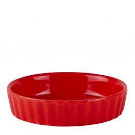Červená miska KJ Collection Redmas Flacco