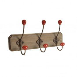 Drevený vešiak s 3 háčikmi Antic Line Wooden