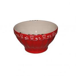 Červená miska Antic Line, ⌀ 9,5 cm
