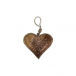 Dekoratívne drevené srdce Antic Line