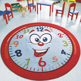 Detský koberec Happy Hour, ⌀ 200 cm