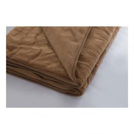 Hnedá deka z merino vlny Royal Dream, 140 x 200 cm