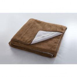 Vlnená deka Royal Dream Julia Brown, 90×200cm