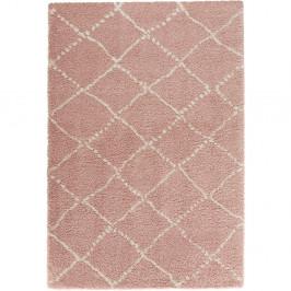Ružový koberec Mint Rugs Allure Ronno Rose Creme, 200 x 290 cm