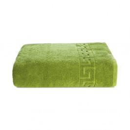 Zelený bavlnený uterák Kate Louise Pauline, 50 × 90 cm