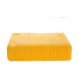 Žltý bavlnený uterák Kate Louise Pauline, 50 x 90 cm
