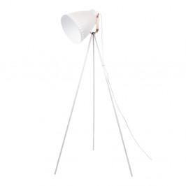 Voľne stojacia biela lampa Leitmotiv Mingle