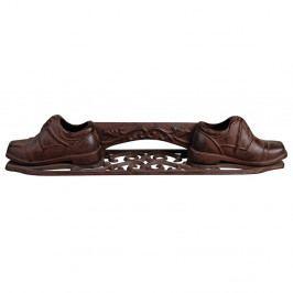 Liatinová rohožka na topánky Esschert Design Crunchy, šírka 44,3 cm