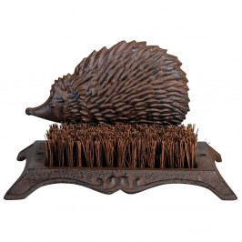 Liatinová kefa na topánky s ježkom Esschert Design