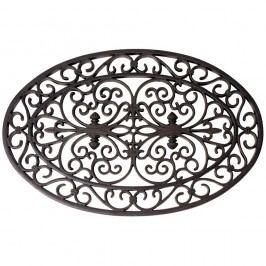 Gumová okrúhla rohožka Esschert Design Ornamental