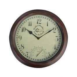 Vonkajšie nástenné hodiny Esschert Design