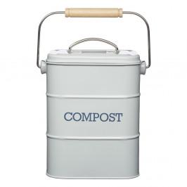 Sivý domáci kompostér Kitchen Craft Living Nostalgia