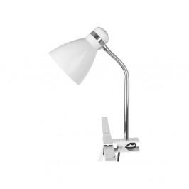 Biela lampa so svorkou Present Time ETH Clip
