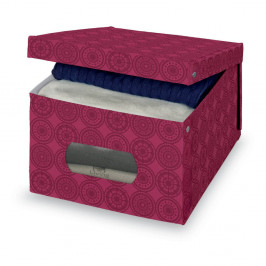 Úložná škatuľa Domopak Ella, 24 × 50 cm