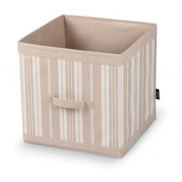 Úložný box Domopak Stripes, dĺžka 32cm