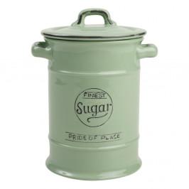 Zelená porcelánová dóza na cukor T&G Woodware Pride of Place