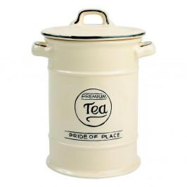 Krémová keramická dóza na čaj T&GWoodware Pride of Place
