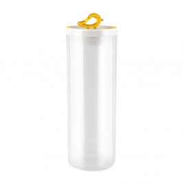 Žltá dóza Vialli Design Livio, 1,8 l