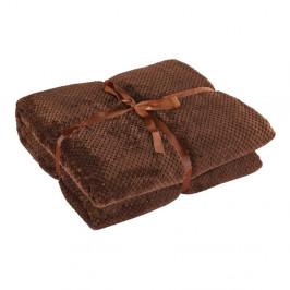 Hnedá deka z mikrovlákna DecoKing Henry, 170×210cm