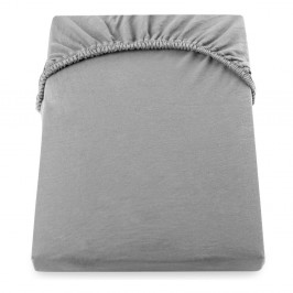 Sivá elastická plachta DecoKing Nephrite, 160–180cm