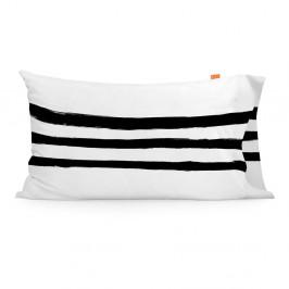 Sada 2 bavlnených obliečok na vankúš Blanc Stripes, 50×80cm