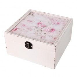 Box Antic Line Romantique, 18x18 cm