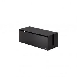 Čierno-hnedý boxna nabíjačky YAMAZAKI Web Cable Box