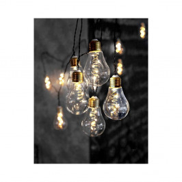 Svetelná LED reťaz Best Season Bulbs, 10 svetielok
