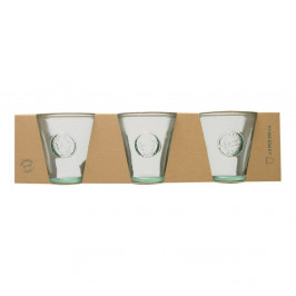 Súprava 3 pohárov z recyklovaného skla Ego Dekor Authentic, 250 ml
