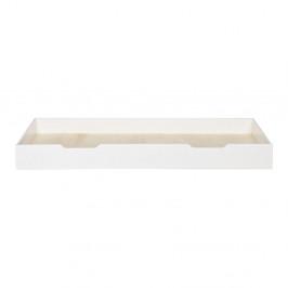 Biela spodná zásuvka pre posteľ WOOOD Nikki, 200×90 cm