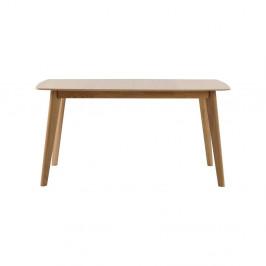 Dubový rozkladací jedálenský stôl Folke Frey, dĺžka 150 cm