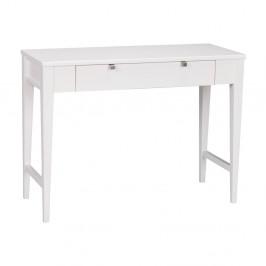 Biely dubový konzolový stolík Folke Fulla
