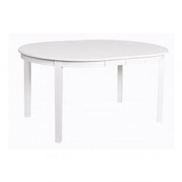 Biely jedálenský stôl z dubového dreva Folke Wittskar, 150 × 107 cm