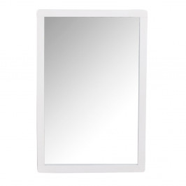 Biele dubové zrkadlo Folke Gorgona
