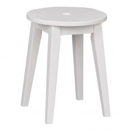 Biela dubová stolička Folke Gorgona, výška 44 cm