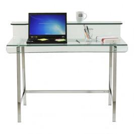 Sklenený pracovný stôl Kare Design Vision