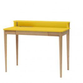 Žltý pracovný stôl Ragaba ASHME