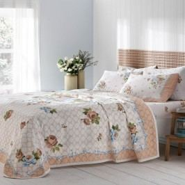 Bavlnená prikrývka s plachtou a obliečkou na vankúš Bianca, 160 x 230 cm